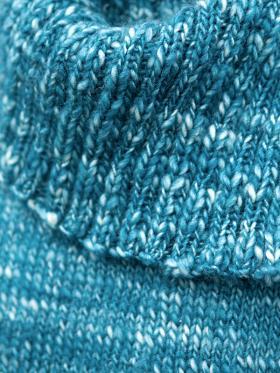 Пуловер со спущенными рукавами - Фото 1