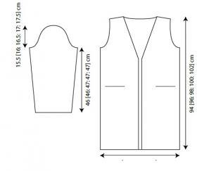 Пальто Карру - Выкройка 1