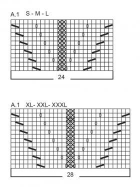 Джемпер Лотос - Схема 1
