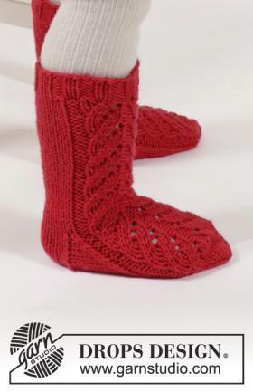 Носки с витым узором для малыша