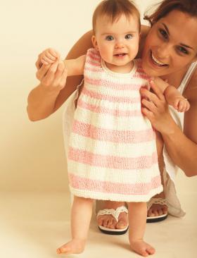 Платье для девочки первые шаги