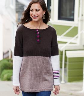 Пуловер Хенли-Этта