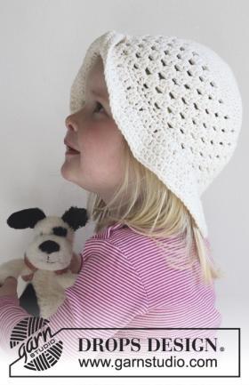 Детская шляпа с полями