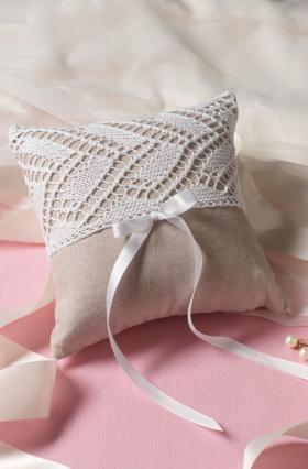 Подушка для обручальный колец