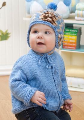 Комплект лицевой гладью для малыша