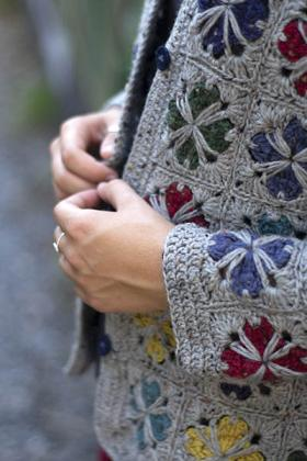 Кардиган Модный квадрат - Фото 2