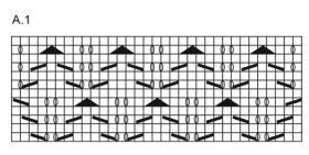 Носки всплеск - Схема 1