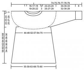 Джемпер черничный квас - Выкройка 1
