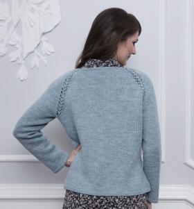 Пуловер Дельфинум - Фото 3
