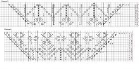Шаль болотный кипарис - Схема 4