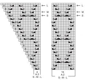 Джемпер Летние ракушки - Схема 2