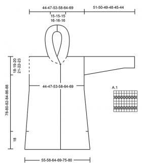 Пальто Аредель - Выкройка 1
