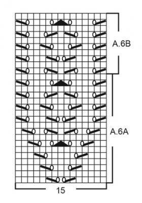 Туника Белый жемчуг - Схема 5