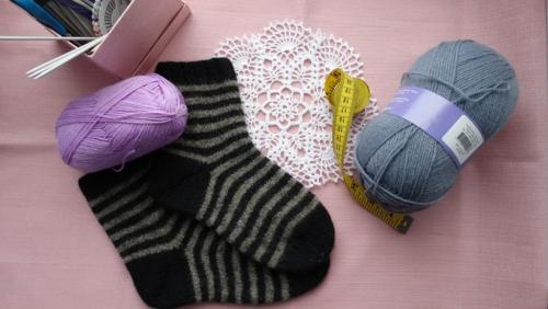 Таблица петель для вязания носков