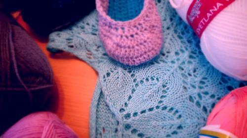 Плотность вязания. Это важно!