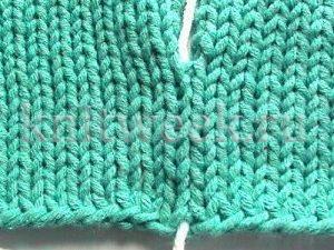 Сшить вязаное изделие правильно