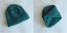 И вот такая шапочка к снуду.  Использовалась пряжа DROPS MELODY (71% альпака, 25% шерсть, 4% полиамид; 50 г/140 м).