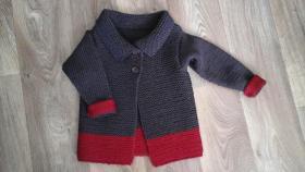 Стильное пальто-кардиган для маленькой модницы-брюнетки#2