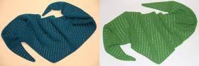 Ажурные бактусы)))  Использовалась пряжа: Vita Baby (100% акрил; 400м/100гр).