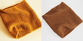 Такие интересные снуды получились - со спиральками)))  Использовалась пряжа Alize Lanagold Plus (49% шерсть, 51% акрил; 100гр/140м)