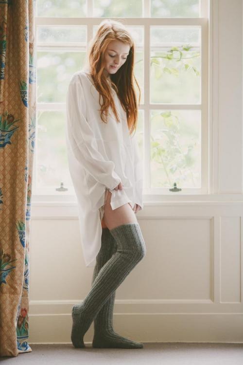 5 способов носить вязаные носки или чулки