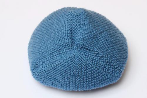 макушка шапки на завязках