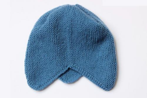 сборка шапки на завязках