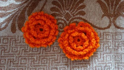 Вяжем цветы. Часть 1. Цветок календулы